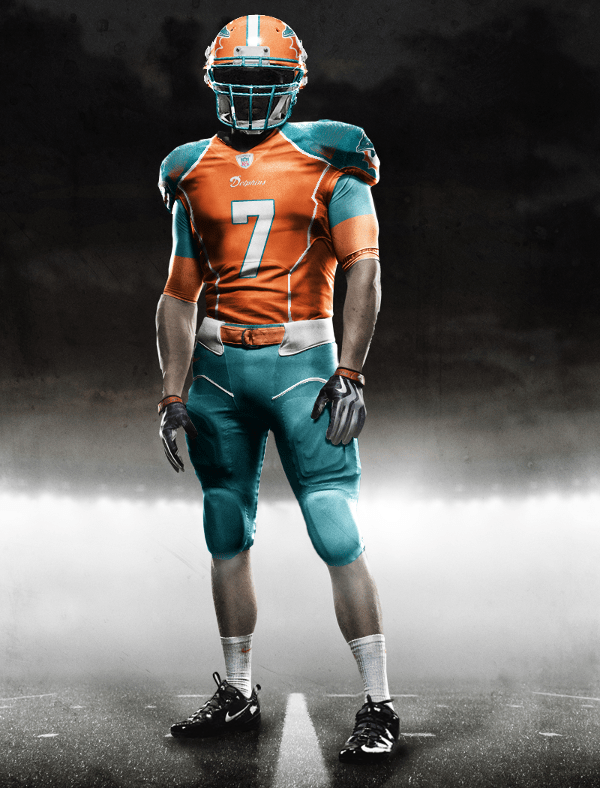 Bringing back the orange jerseys with style. Digging the orange helmets as  well. 385c12214