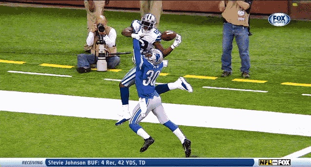 Dez One handed catch