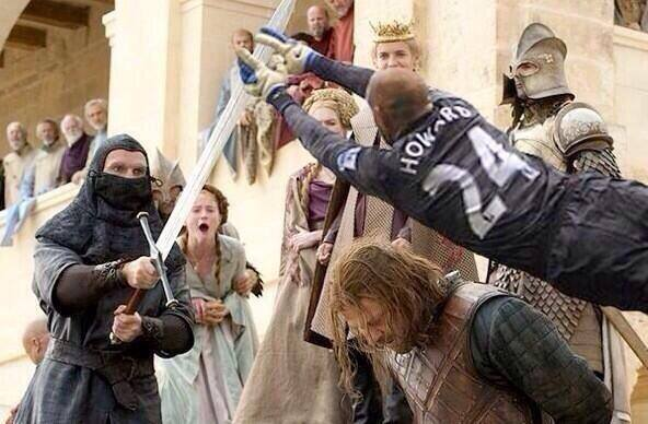 Ned would have been saved but it would have just added one more victim to the Red Wedding.