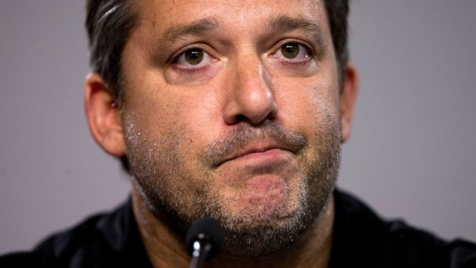 Tony Stewart speaking publicly for the first time following the death of Kevin Ward Jr. (John Bazemore/AP Photo)
