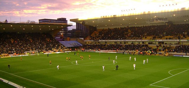 Molineux, home of Wolverhampton Wanderers