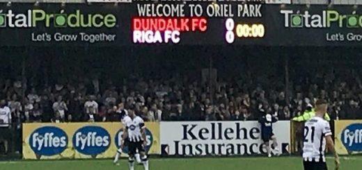 Oriel Park, home of Irish Premier Division side Dundalk