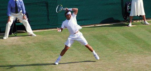 Spanish tennis player Rafael Nadal