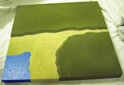 2CL11  - River estuary silted / Corner coastline