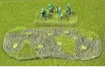 """R15DE003 - Mine Fields (4"""" x 2"""") (x2)"""