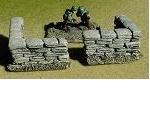 R15WA005 - Sandbag wall (90 degree corners x 4)