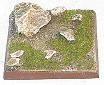 R00FB402 - 40mm square base (rocks & stones)