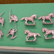 GG11  Gallic cavalry, Clipeus