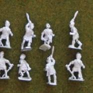 IB09  Celtiberian warriors with sword