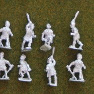 IB09  Celtiberian warriors with sword