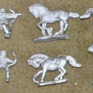 PA05 Parthian Horse Archers (3 poses)