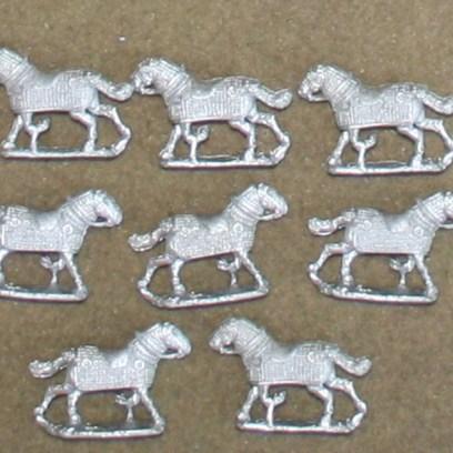 PA13 Fully Armoured Horses