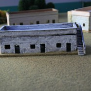 R15BH009 Adobe houses (triple) - with steps