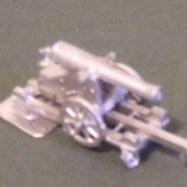 ACS22 32pdr Sea Coast Gun on Barbette Carriage