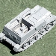 BAT09 Crusader tow for 17 pdr ATG