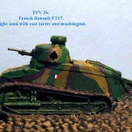 FFV03b FT17 cast turret 37mm
