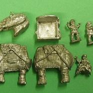 HI16 Armoured Elephant Crew with Swivel gun