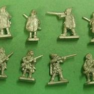 LAN11 Hungarian Light infantry musketeer