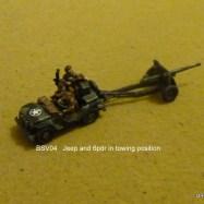 BSV04 Jeep towing 6 pounder gun