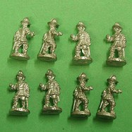 PS02 Pikeman Breast and Back Plate, Marching, Pot Helm