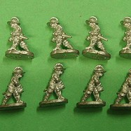 PS08 Pikeman, Breast & Back Plate, Tassets, Receiving Cavalry
