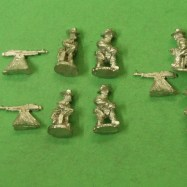 SWA12 Rough Riders Colt machine Gun & Crew