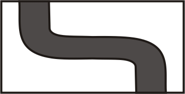 S3H - Right to Left Double Curve Wide River