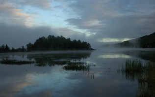 Tremblant lake