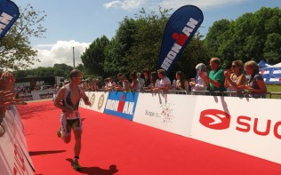 Phil Murphy at IM 70.3 UK 2014