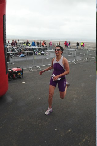 Helen Williams at Wirral Triathlon 2014