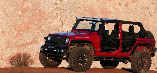 Paramount Shows Out at Moab Easter Jeep Safari