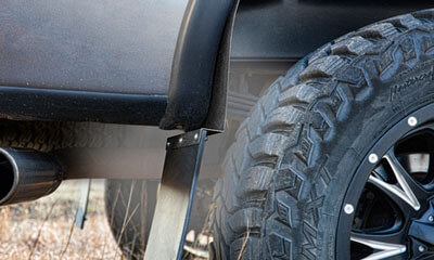 Mud Flaps For Lifted Trucks >> Husky Liners Kickback Mud Flaps For Lifted Trucks Total
