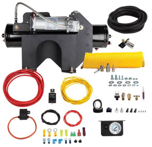 Kleinn Automotive Bolt-On Onboard Air System for GM and Chevy