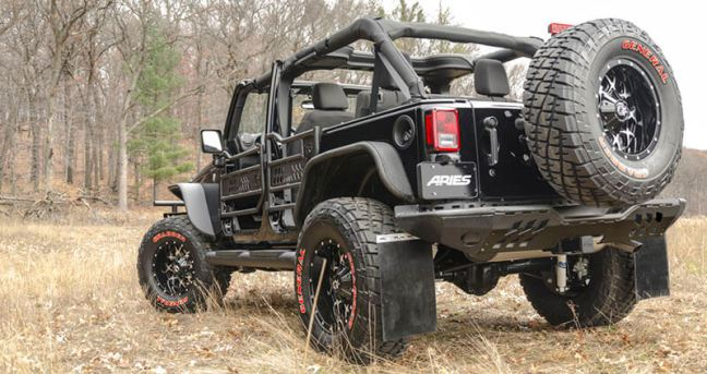 ARIES Fender Flares for Jeep