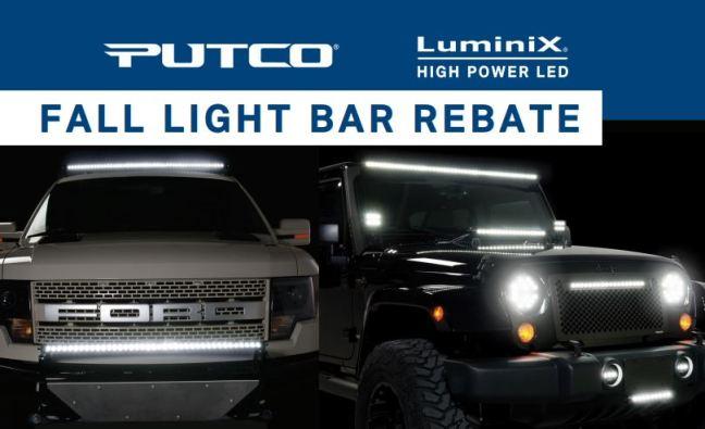 Putco Fall Light Bar Rebate