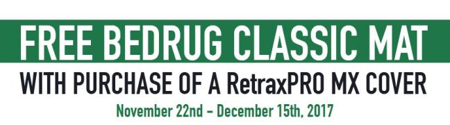 Retrax: Get a Free BedRug Classic Mat with RetraxPRO MX Truck Bed Cover Purchase