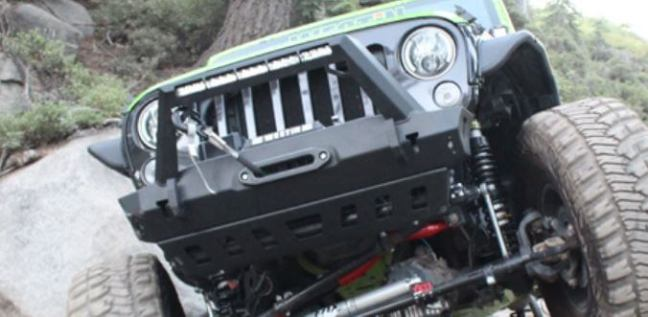 WESTiN Automotive: WJ2 Front and Rear Bumpers for '07-'18 Wrangler JK