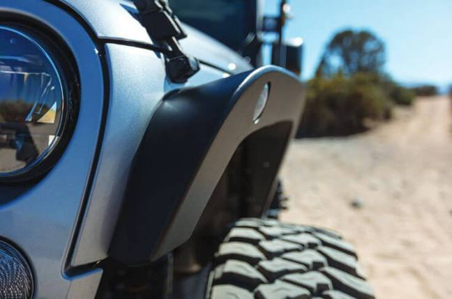 Go Rhino: Trailline Fenders and Fender Liners for Jeep Wrangler