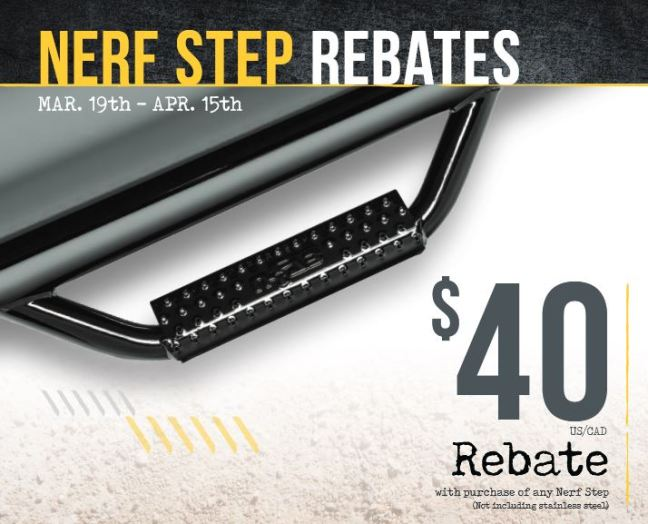 N-FAB 40 Dollar Nerf Step Rebate
