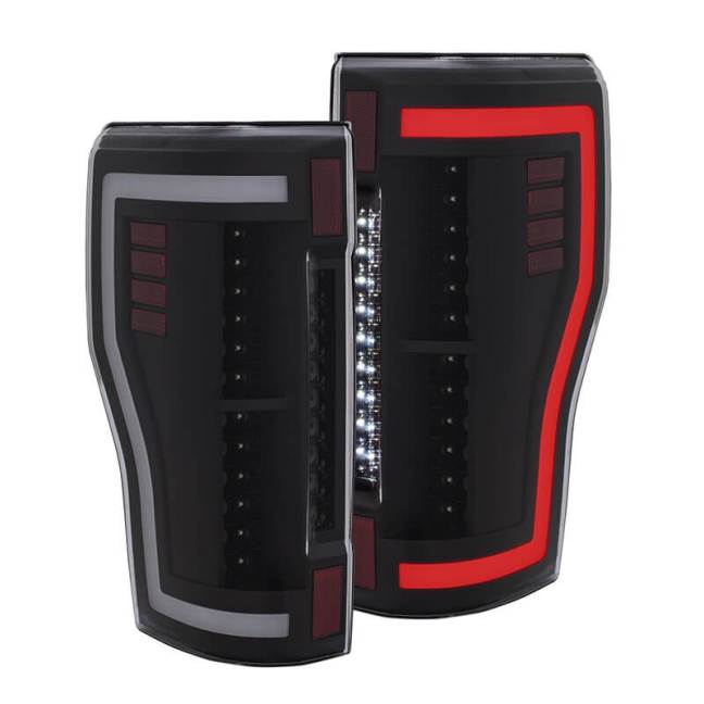 AnzoUSA Plug and Play Tail Lights for Ford F-250 Super Duty