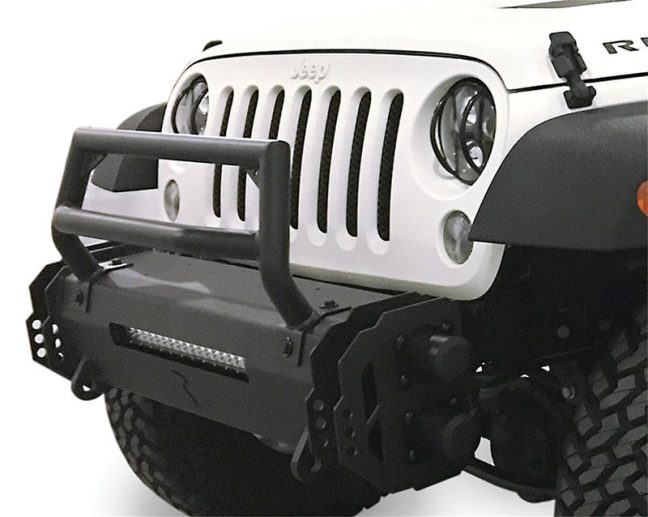 Rampage Products (5240611): Trailram Modular Bumpers for '07-'18 Jeep Wrangler