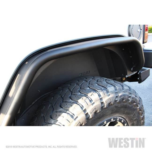 WESTiN Automotive: Front and Rear Inner Fenders for Jeep Wrangler JK