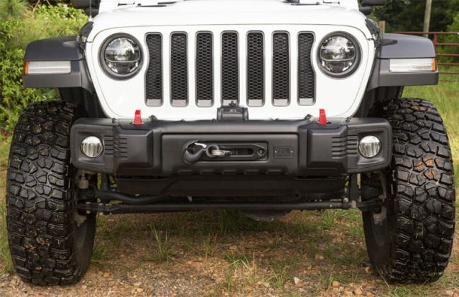 Rugged Ridge Spartacus Stubby Front Bumper for Jeep Wrangler JL