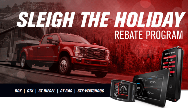"""Bully Dog: """"Sleigh the Holiday"""" Event Gets You Up to $50 Back on Select Tuners"""