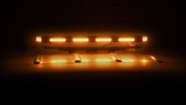 Putco Hornet Amber LED Stealth Rooftop Strobe Light Bar 950124