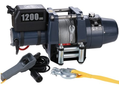 Bulldog Winch (12001) 1200 LB 12vDC HOIST