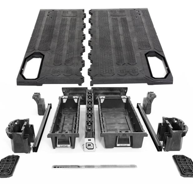 "DECKED® (MG3) Truck Bed Organizer for `15+ Chevrolet® Colorado (5'2"" Bed Length)"