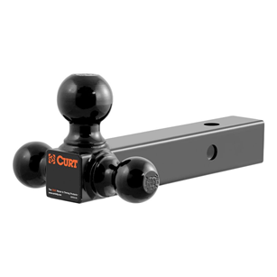 """CURT (45652): Multi-Ball Mount  (2"""" Hollow-Shank with 1-7/8"""", 2"""", 2-5/6"""" Balls)"""