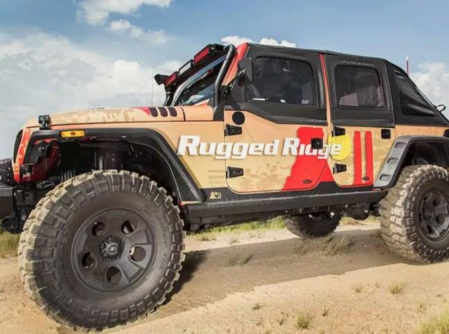 Rugged Ridge XHD Rock Sliders for Jeep JL