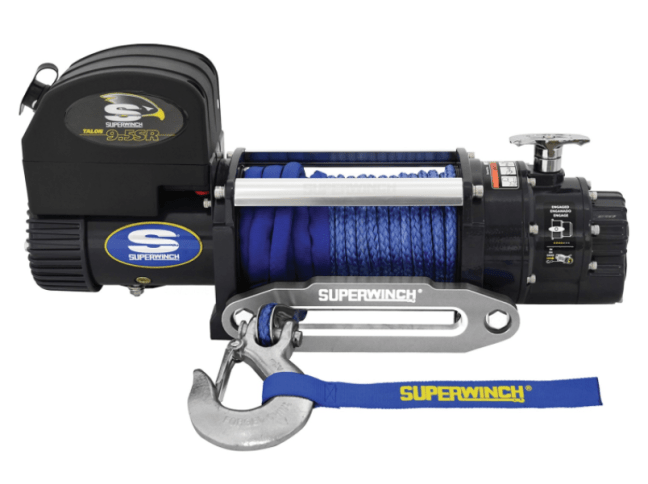 Superwinch Talon 9.5SR Winch Synthetic Rope 1695201Superwinch Talon 9.5SR Winch Synthetic Rope 1695201